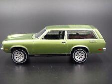 1972 Chevrolet Vega Wagon GREEN RARE 1/64 DIECAST COLLECTIBLE MODEL DIORAMA CAR