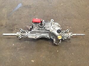 COUNTAX RIDE ON MOWER TUFF TORQ K55 HAND CONTROLLED    HYDROSTATIC GEARBOX