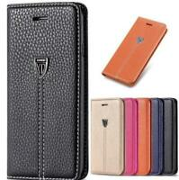 For Apple iPhone XR XS Max 6 7 8 Plus SE Case Flip Wallet Leather Cover Magntic