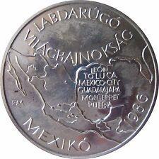 UNGARN KM 647 100 Forint WM Mexico 1986 in UNC  420012