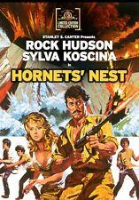 Hornets' Nest 1970 (DVD) Rock Hudson, Sylva Koscina, Sergio Fantoni - New!