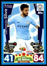 Match Attax 2017/2018 Bernardo Silva Manchester City No. 196
