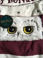 PRIMARK HARRY POTTER HEDWIG FLUFFY PENCIL CASE GREAT FOR BACK TO SCHOOL