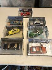 Eaglemoss James Bond Car Collection - Lot of 7 models