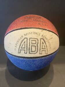 VINTAGE ABA AMERICAN BASKETBALL ASSOC. STADIUM SOUVENIR MINIATURE BASKETBALL