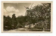 Vintage Postcard RPPC WARTBURG MIT HAINTEICH Wartburg Castle Germany