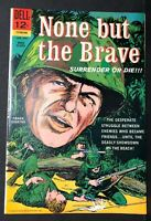 NONE BUT THE BRAVE War Movie comic book FRANK SINATRA VF/NM 1965 Jack Sparling