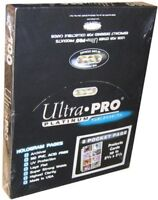 100 ULTRA PRO PLATINUM 8-POCKET 2 3/4 x 3 1/2 Vintage Card Pages Protectors