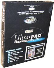 100 ULTRA PRO PLATINUM 8-POCKET 2 3/4 x 3 1/2 Vintage Card Pages Protectors