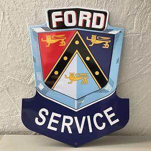 Ford Service METAL SIGN VINTAGE GARAGE CAR 0503212