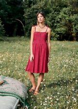 BNWT Sezane Juliette Dress Fr 40 UK 12 Fushia