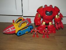 Imaginext Hulkbuster , Iron Man Drill & Figure's Marvel Avengers Superheros