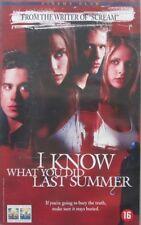 I KNOW WHAT YOU DID LAST SUMMER  - VHS (CINEMA CLUB)