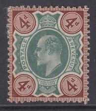 VAR236a 4d Green & Chocolate Brown M24 (1) mounted mint with unlisted variety .