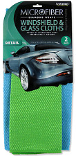 Microfiber Cleaning Cloth Weave Windshield Glass Car Care Tools Equipment