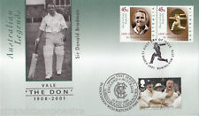 "2001 Australian Don Bradman Cricket ""Special"" - Doubled UK 2009 MCC Test Series"