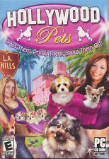 HOLLYWOOD PETS Designer Puppy Virtual Pet PC game NEW in Box!