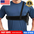 Tactical Concealed Carry Shoulder Pistol Hand Gun Holster Pouch for Right/Left