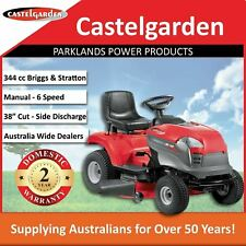 """Castelgarden XD140 38"""" 344cc Side Discharge Ride On Mower Manual 5 Speed"""