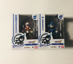 Megaman X ZERO 17 & X 16 Bandai Tamashi Buddies Brand