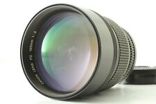 【Exc++++】 Canon New FD NFD 135mm f/2 Telephoto Portrait  MF Lens From Japan #383