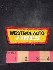 Vintage WESTERN AUTO TIRES Patch C803