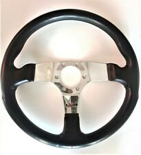 Vintage Sport leather steering wheel PERSONAL E 38356 - 010889 volante sportivo