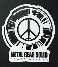 """Sticker Aufkleber Matt-Optik """"Peace Walker"""" Laptop, Notebook, Stickerbomb ..."""