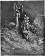 Gustave Dore gigantón Pantagruel 045 A4 Foto impresión