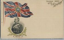 Early TUCK Empire PC Colonel Plumer Embossed Flag Circa 1900