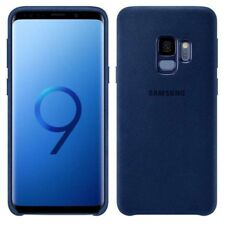 Samsung Alcantara Cover ef-xg960alegww for Galaxy S9 g960f Pouch Blue