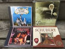 Lot of 4 Classical CDs~Symphony Orchestra~Schubert+