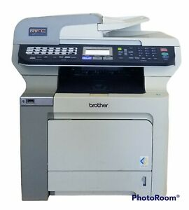 Brother MFC-9840CDW All-In-One Laser Printer with Toner, Under 11k Pages Printed