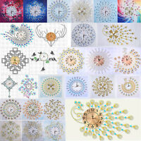 DIY Special Shaped Diamond Painting Wall Clock Craft Mosaic Kits Home Art Decor