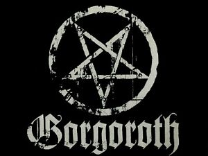 Gorgoroth Pentagram Medium Canvas Patch Black Metal Antichrist Destroyer Satan