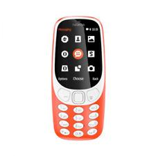 Nokia 3310 (2017) Dual-SIM rot Tastenhandy, Tastatur Handy, Mobiltelefon, OVP