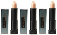 3 x MAYBELLINE COUNT DOWN LIPSTICK NUDE 5 WHITE GOLD METALLIC Brand New