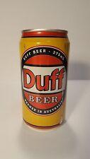 Duff Beer Unopened Full Can, US Seller, Simpsons, Homer