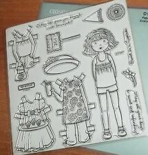 CTMH D1547 PAPER DOLL ~ GIRL, Clothes, When life gives you lemons make lemonade!