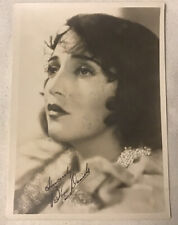 Antique Vintage Sincerely Bebe Daniels Glamour Signed Photo Stunning As Shown
