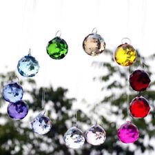 Fancy Crystal Ball Prisms Pendant Rainbow Suncatcher for Kids Window Fengshui