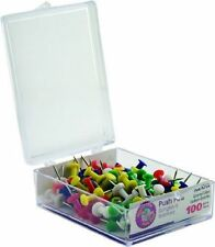 Advantus Plastic Head Decorative Push Pins Craft Supplies Cork Board 100 Pcs max