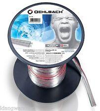 OEHLBACH Silverline SP-15 2000 / Lautsprecher Kabel 2 x 1,5mm / 20m / 181