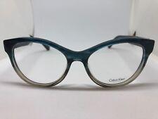 1d6d831c5e NEW Calvin Klein CK 7986 408 Teal Taupe Horn 52.16.135 Eyeglass Frame
