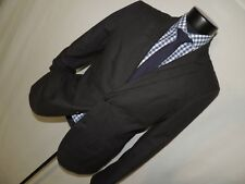 Armani Exchange Men's Black 100% cotton Modern slim fit jacket 40 R