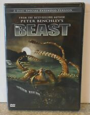 The Beast (DVD 2008 2-Disc Extended Edt) RARE HORROR THRILLER TV MINI SERIES NEW