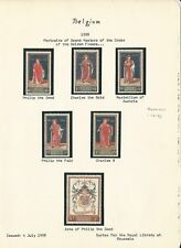 Belgium & Congo Collection 1947-66 on 4 Pages