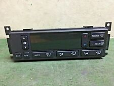 1998 - 2002  Lincoln Continental climate control unit  XF3H-19C933-AD Used OEM