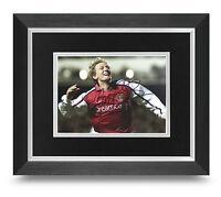 Ray Parlour Signed 10x8 Photo Display Framed Arsenal Memorabilia Autograph + COA