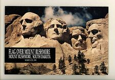 US FDC #2523A USPS Ceremony Program 1991 Rushmore SD Flag over Mount Rushmore
